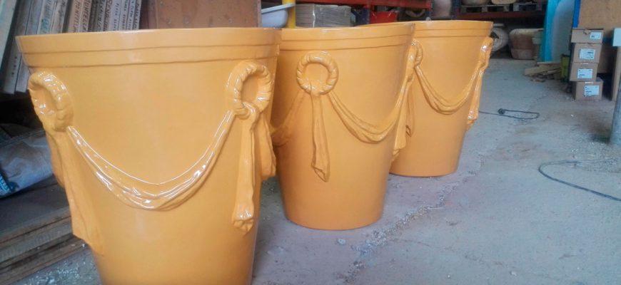 Nuestra cer mica guinea ceramica artistica monmental - Ceramica artistica sevillana ...