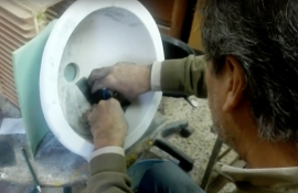 Lavabos hecho a mano