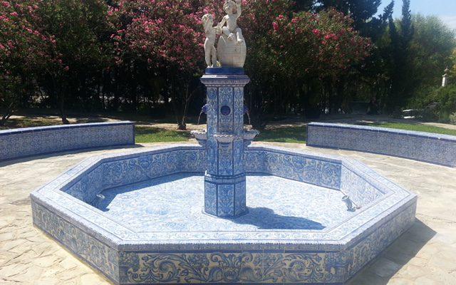 Fuente de Agua de cerámica