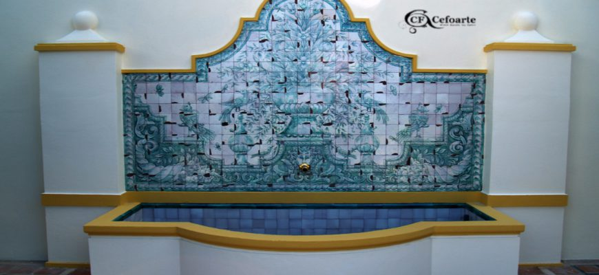 Mural de azulejos, cerámica - Tiles