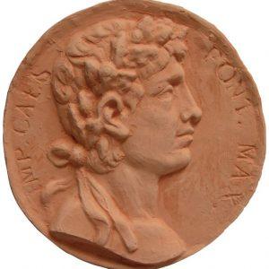 Moneda romana terracota