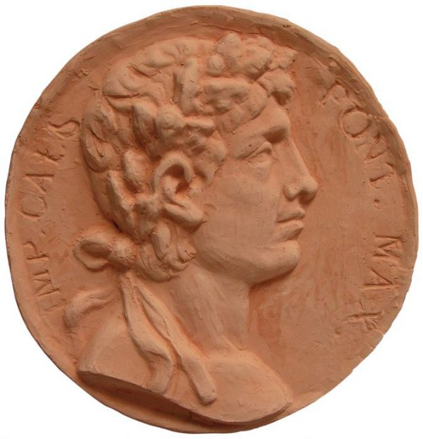 Moneda romana terracota