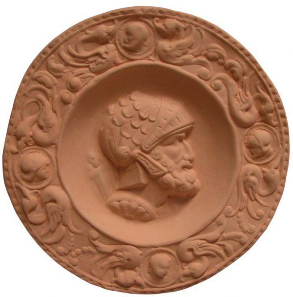 medallon romano