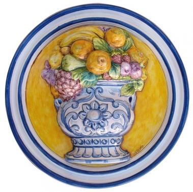 placa ceramica decorativa