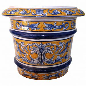 Maceta de cerámica