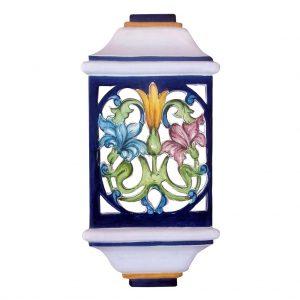 Aplique de cerámica pared