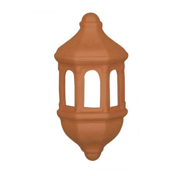 Aplique de terracota