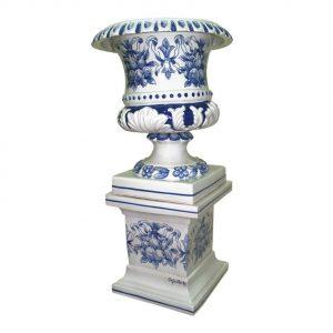 Pedestal de cerámica
