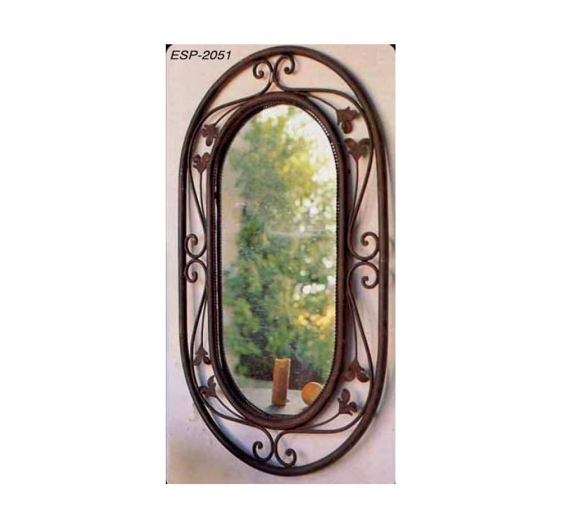 Espejo ovalado cefoarte for Espejo ovalado de pie