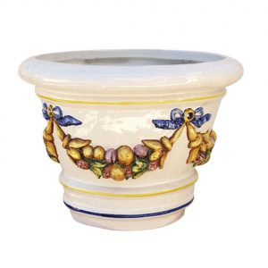 Macetón de ceramica