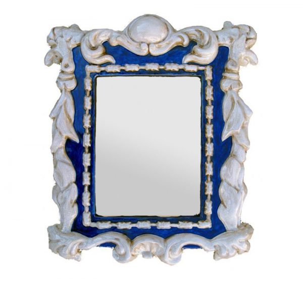 Marco espejo ceramica