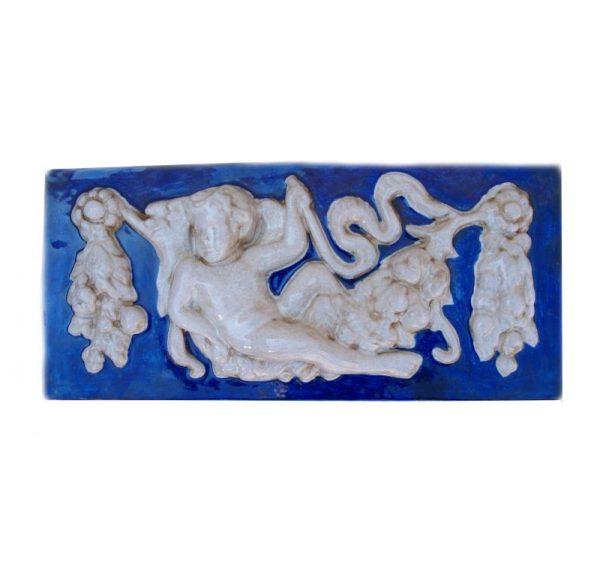 friso angelitos ceramica