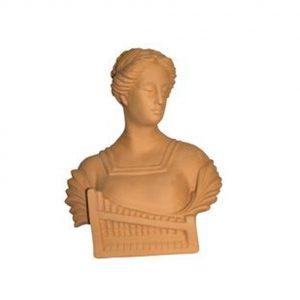 Busto de cerámica