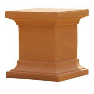 pedestal-terracota