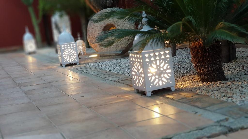 Farol arabe decoracion
